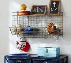 Wire Storage Shelf