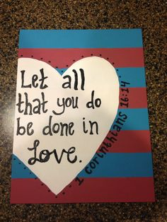Custom Bible Verse Painting by BonnieBelleShop on Etsy, $17.00