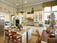 Traditional Kitchen with Elegant Touches