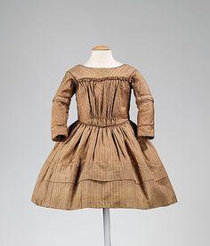 Girl's Dress 1845-50