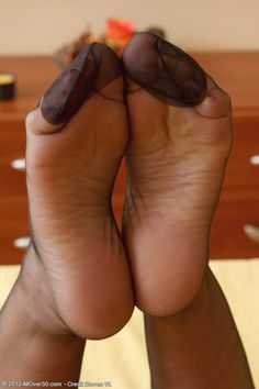 ♠️stockings hose feet, blk hose, nylon feet, sole, pantyhos