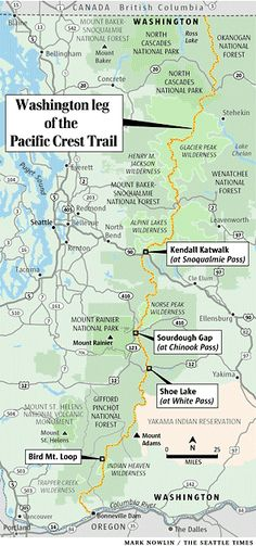 Wasington leg of Pacific Crest Trail | Seattle Times Newspaper