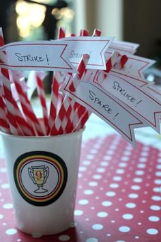 Love the straws!