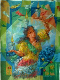 Pandango sa Ilaw Dancer by Edgardo Parducho on Artyii