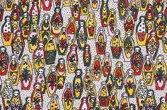 matryoshka: textile | minä perhonen