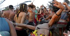#Goa – #drug_addicts in a #rave_party