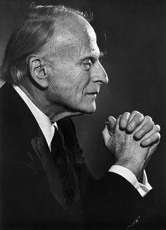 Yehudi Menuhin 1984 by Yousuf Karsh by Karsh Nut, via Flickr