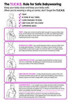 TICKS - rules for safe babywearing
