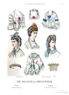 June 1870, The Milliner and Dressmaker
