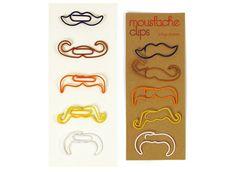 Moustache Clips