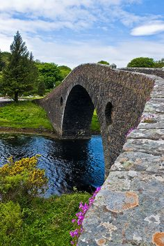 Atlantic Bridge Detail, Seil, Scotland a few kilometres southwest of Oban