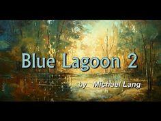 landscap art, acryl paint, knife paint, art intrest, blue lagoon, palett knife, paint techniqu, landscape art, paint demonstr