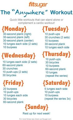 The Anywhere Workout