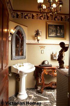 Gothic Bathroom for the Modern Bathory