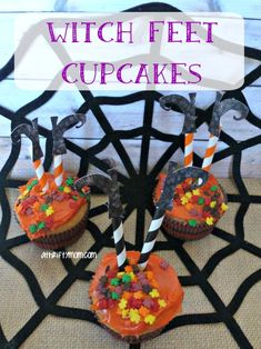witch cupcakes, #Hal