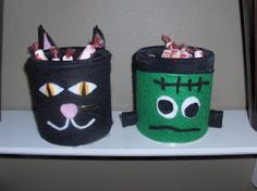 Upcycle cardboard cans