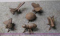 Cast Iron Garden Bugs
