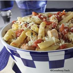 Gooseberry Patch Recipes: Hearty Tomato & Chicken Penne. From 101 Stovetop Suppers Cookbook.