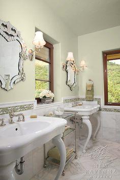 classic bathroom mosaic | New Ravenna Mosaics
