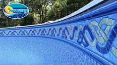 Up close look at the Fusion liner. http://www.abovegroundpoolbuilder.com/fusion-with-radiance-floor