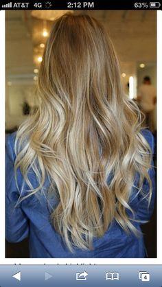 Highlighting my hair in 2 weeks! :)