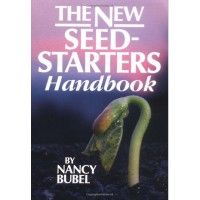 The New Seed-Starters Handbook, by Nancy Bubel. Written by a garderner with 30 years of experience, this easy-to-use reference explains everything you need to know to start seeds and raise healthy seedlings successfully. | $12 from The Rodale Store