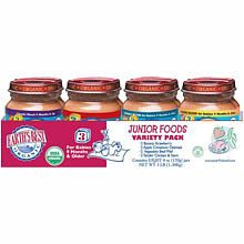 Earth's best 3rd stage organic junior food- 8-pack