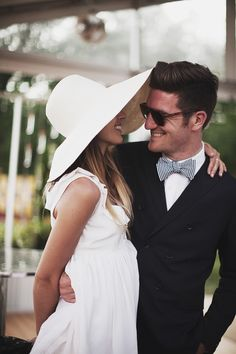 hat and bow tie love.