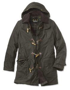 Barbour Kineff hooded duffle coat