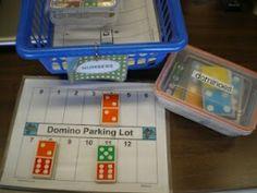 Mrs. Bremer's Kindergarten: math work stations by ssquires