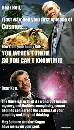 .Ken Ham is an idiot!