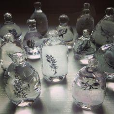 glass works by Kanami Ogata