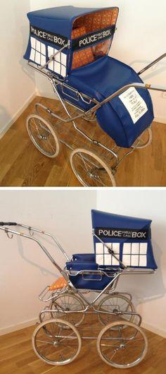 TARDIS stroller