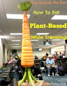 How to maintain your plant-based/vegan diet when traveling: no-BS tips for any situation. #vegan #traveling #tips #wfpb | www.veganrunnereats.com