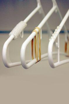 Bedroom Closet Storage Ideas: updating hangers