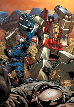 Cobra Commander & Starscream