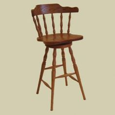 Heritage Colonial Mates Windsor Swivel Counter Stool