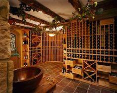 Wine cellar, yes please!