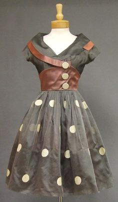 1950's Organdy Dress