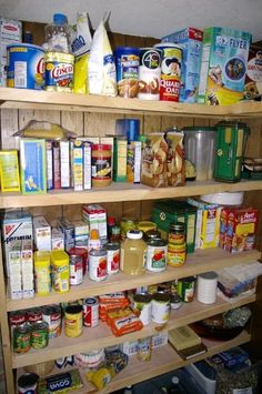 Survival Foods That Make Sense (and their Shelf Lives)