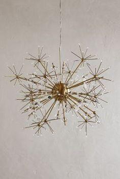 Dandelion orbit chandelier