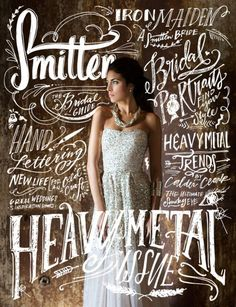 Stunning hand drawn lettering & calligraphy | From up North. We should do this for a candy cover. @Crystal Chou Chou Chou Chou Chou Chou Chou Chou Chou Lindell