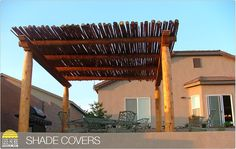 Backyard ideas on pinterest spanish colonial desert for Southwest pergola