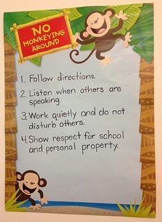 monkeyclassroom theme | Monkeys Classroom Inspiration