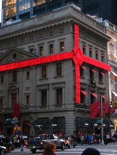 Cartier store Christmas decorations, NYC