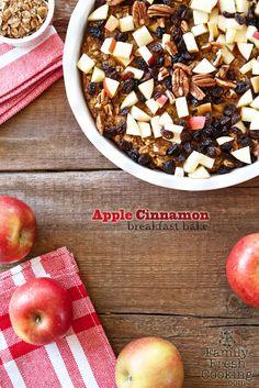 Apple Cinnamon Breakfast Bake | FamilyFreshCooking.com