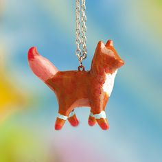 Le Fox Tribal Adventure Totem Necklace by le animalé and JESSICA SWIFT