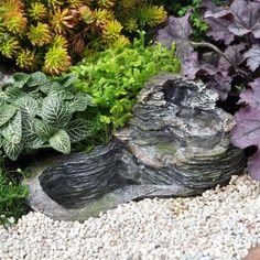 Amazon.com - Miniature Fairy Garden Small Waterfall with Pond Pump