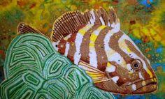 Eleanor Pigman Seed Bead Art