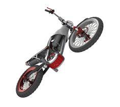 Air powered motorbike by Bolaji Teniola